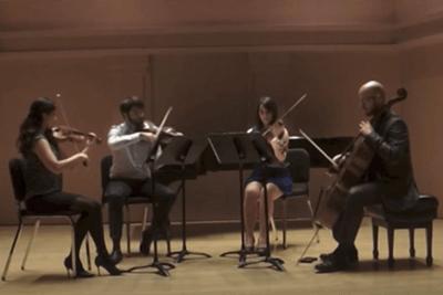River Oaks String Quartet Uptown Funk